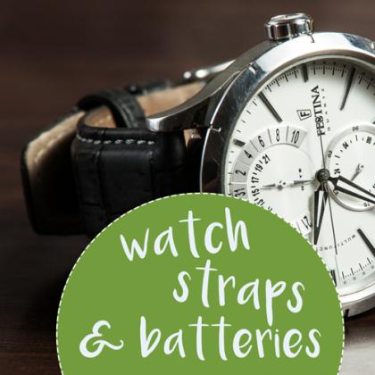 Watch Straps & Batteries